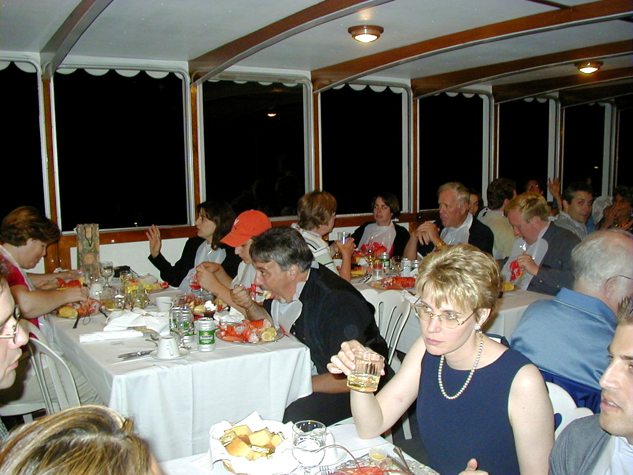 dining afloat